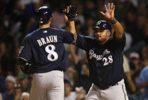 Will Prince Fielder join Braun for the long-haul and resign with the Brewers? (Jonathan Daniel/Getty Images)