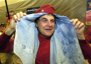 Tony La Russa is fun to watch ... no matter what he's doing.