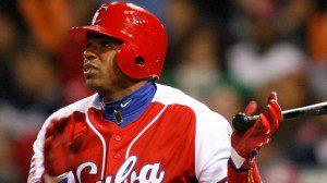 The Oakland A's, not even mentioned as a possible option, land Yoenis Cespedes. (Denis Poroy/AP)