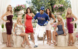Josh Hamilton and the Texas Rangers are among the elite in Jed's crazy, mixed-up world of baseball and housewives. (Adam Olszewski/Bravo)