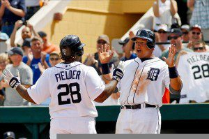 The Prince Fielder-Miguel Cabrera show is helping transform Detroit into Tigertown. (Derick E. Hingle/US Presswire)