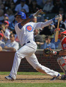 Starlin Castro leads the way for the all-Latin fantasy team. (Jonathan Daniel/Getty Images)
