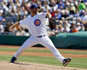 Chicago Cubs opening day starter Ryan Dempster hopes to get the Theo Epstein era off on the right foot. (Chris Carlson/AP)