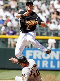 Troy Tulowitzki is the man in Colorado. (Jeff Gross/Getty Images)