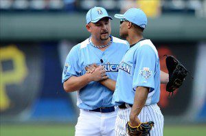 Billy Butler thanks Robinson Cano for the national pub he garnered this week.
