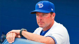 Mike Redmond will be moving from the dugout of the Dunedin Blue Jays to manage the Miami Marlins.