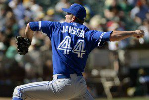 Casey Janssen earned the opportunity last season to begin 2013 as the Toronto Blue Jays closer. (Thearon W. Henderson/Getty Images)
