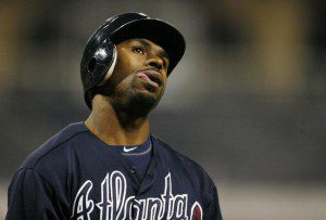 Michael Bourn must be wondering why he's still unsigned. (Charles LeClaire/USA Today)