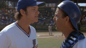 The most historic battery mates in all baseball...movies.