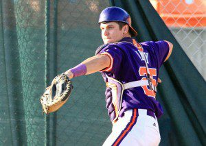 Chris Okey may be the best catching prospect in the 2016 MLB draft.