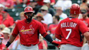 Jason Heyward and Matt Holliday should provide plenty of pop for the Cardinals in 2015.