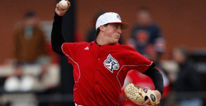 Kyle Funkhouser was hitting 97 mph in the seventh inning of his last start.