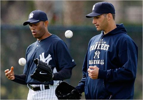 Mariano Rivera and Andy Pettitte
