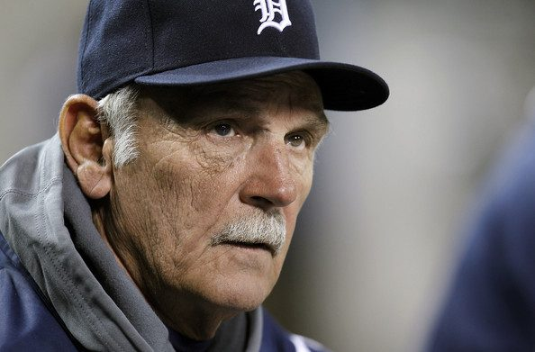 Detroit manager Jim Leyland