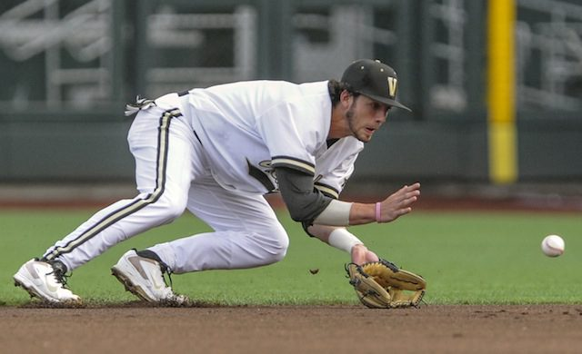 Dansby Swanson has shown all five tools this spring. (AP Photo/Dave Weaver)